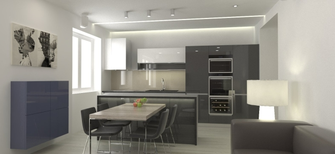 <h5>Interiér kuchyne</h5>