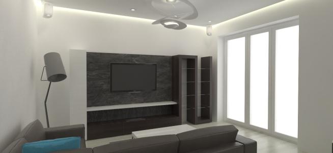 <h5>Interiér obývačky</h5>