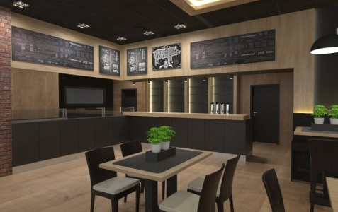 <h5>Interiér reštaurácie</h5>