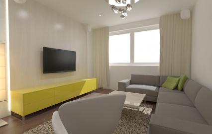 <h5>Interiér bytu – Košice</h5>