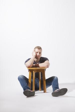 <h5>Lazy stool</h5>