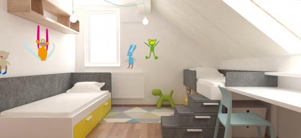 <h5>Interiér detskej izby – Košická Polianka</h5>