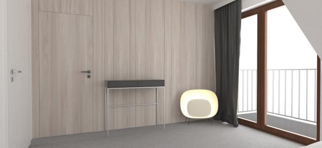 <h5>Vizualizácia – Spálňa</h5>