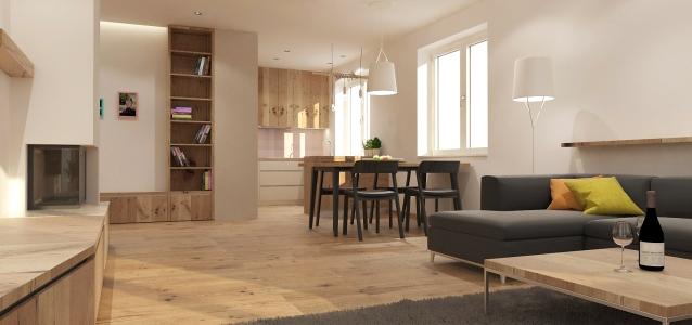<h5>Interiér rodinného domu – Krásna</h5>