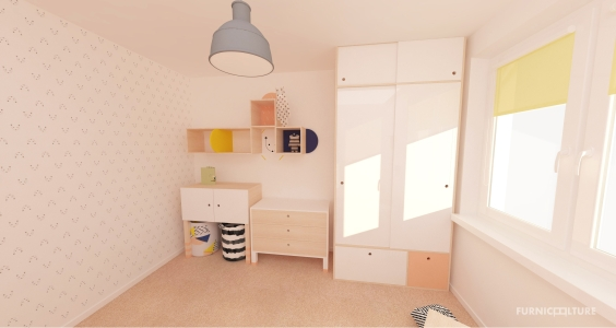 <h5>Detská izba malej slečny</h5>