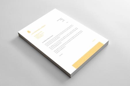 <h5>Hlavičkový papier</h5>