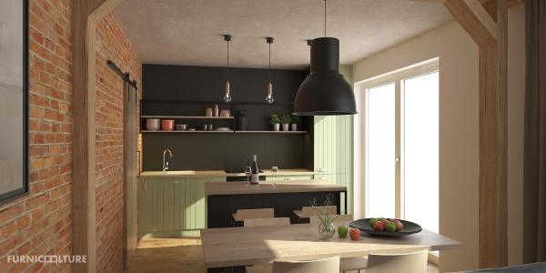 <h5>Interiér letnej kuchyne</h5>