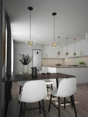 <h5>obývačka s kuchyňou</h5>