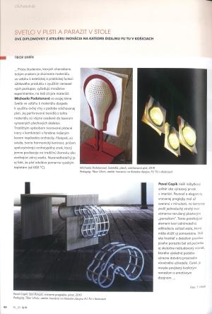 <h5>Kolekcia v časopise RUD</h5>