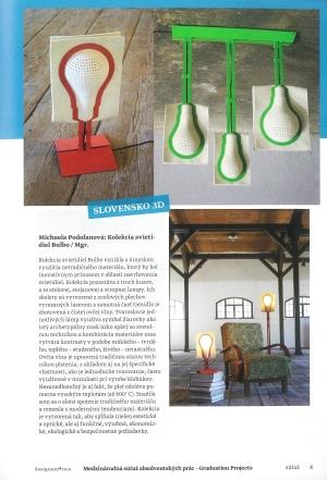 <h5>Kolekcia v časopise Designum</h5>