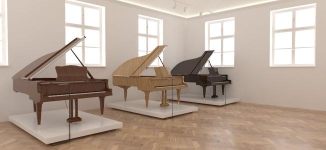 <h5>Bočné krídlo - klávesové hudobné nástroje</h5>