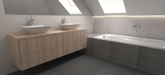 <h5>Vizualizácia – Kúpeľňa</h5>
