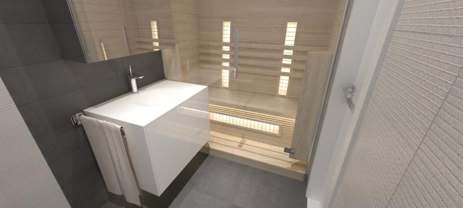 <h5>kúpeľňa so saunou</h5>