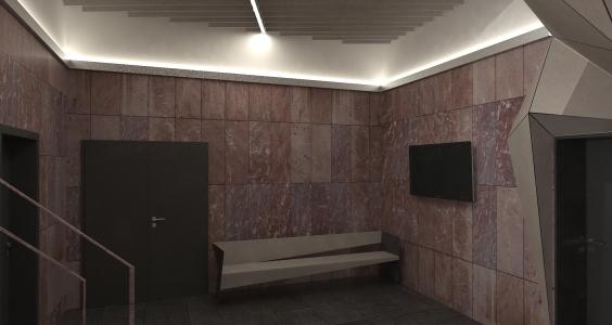 <h5>Vizualizácia – čakáreň</h5>