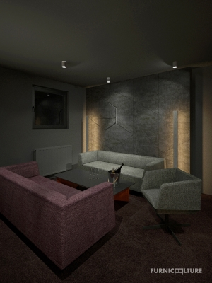 <h5>Interiér skylounge baru</h5>